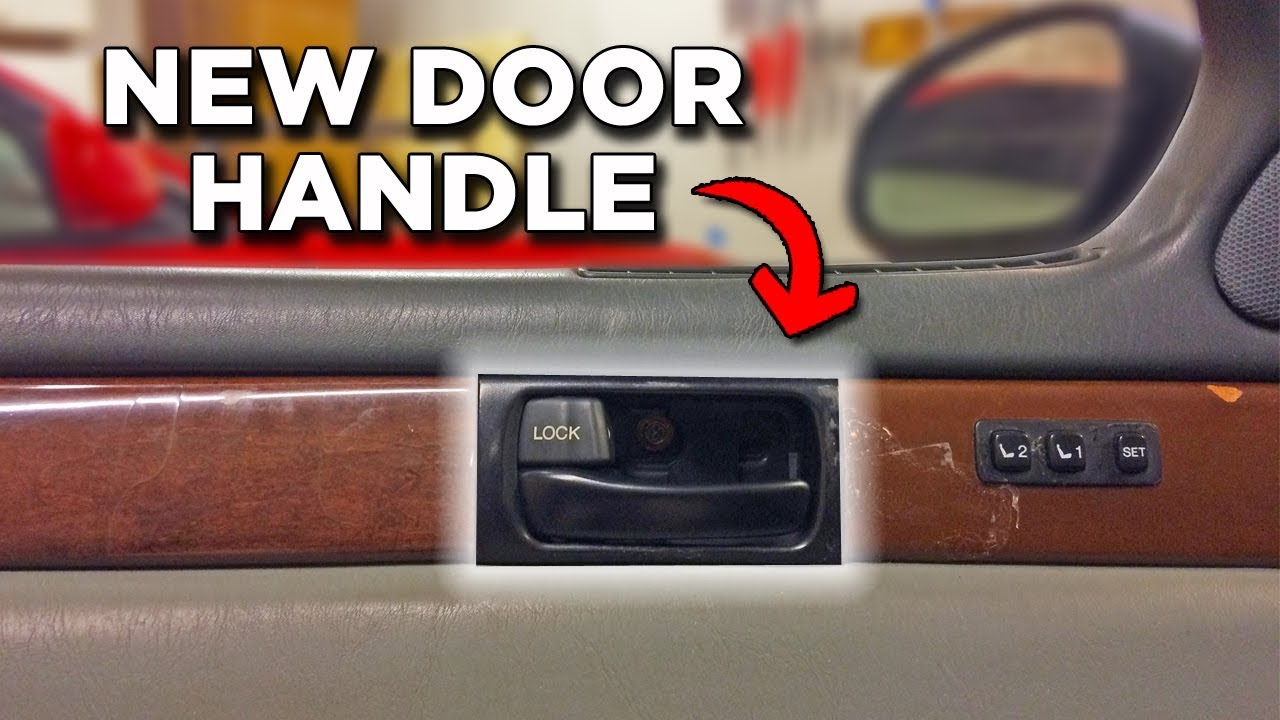 How To Replace Broken Door Handle Project Sc300 Youtube