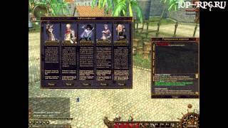 Игра Пираты онлайн - видеообзор от TOP-RPG.RU by Kinat