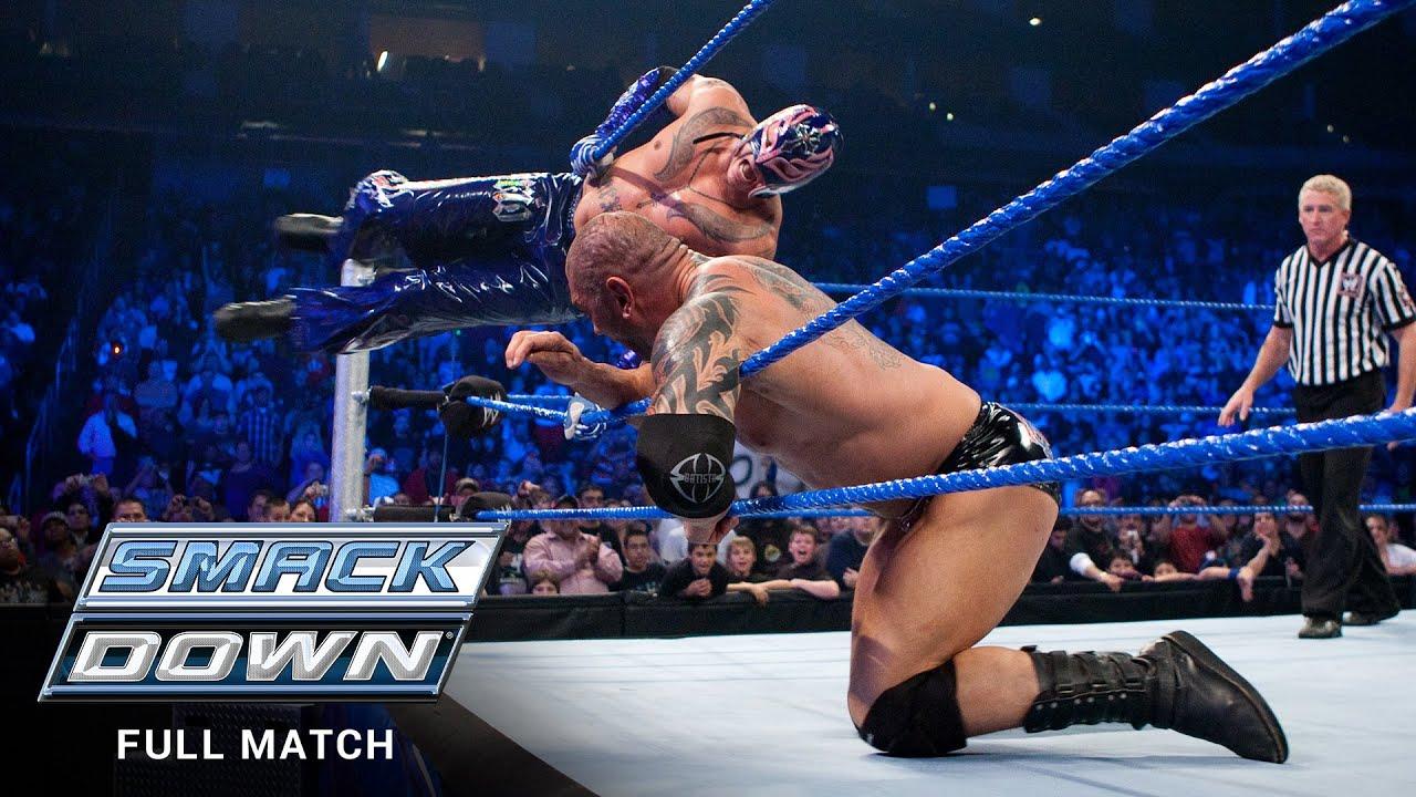 Download FULL MATCH - Rey Mysterio vs. Batista – Street Fight: SmackDown, Dec. 11, 2009