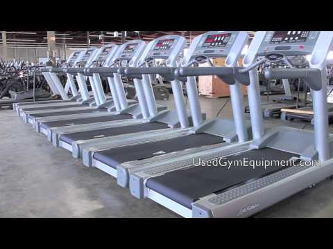 Used Life Fitness 95Ti Treadmills for sale