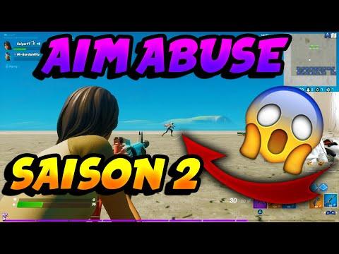 J'ESSAYE LE AIM ABUSE SUR LA NOUVELLE SAISON ! UN AIMBOT ?! Strike Pack Fortnite