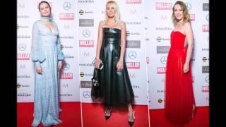 Ксения Собчак в красном полупрозрачном платье. Шок!