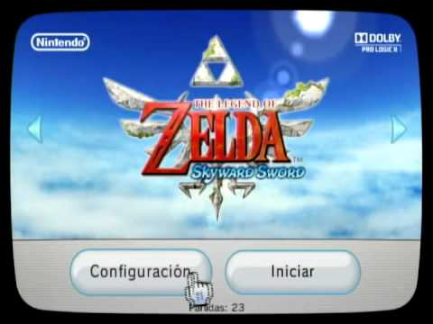 Solución para iniciar The Legend of Zelda: Skyward Sword