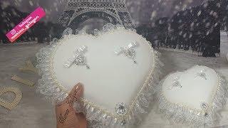 Подушка для свадебных колец своими руками Кружева с сайта NEWCHIC ✔ Marine DIY Guloyan✔