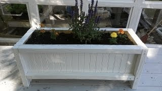 How To Make A Flower Bed With Reclaimed Wood