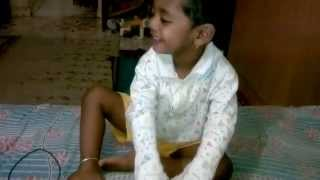 Tanmay singing angai geet (Lullaby )