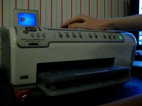 hp c6280 all in one printer scanner copier youtube rh youtube com HP C6280 Specs C6280 HP Error 0Xc18a0206