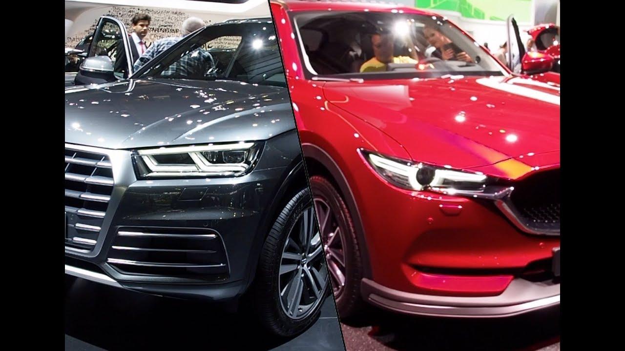 2018 Mazda Cx 5 Vs 2017 Audi Q5 Youtube