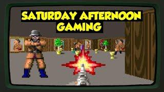 Wolfenstein 3D (DOS) - A Nazi Killing Gunstravaganza! - Saturday Afternoon Gaming