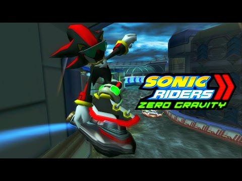 Sonic Riders Zero Gravity - Tempest Waterway - Shadow 4K 60 FPS
