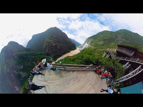 Тибетцы в Китае: провинция Юньнань (ВИДЕО 360)