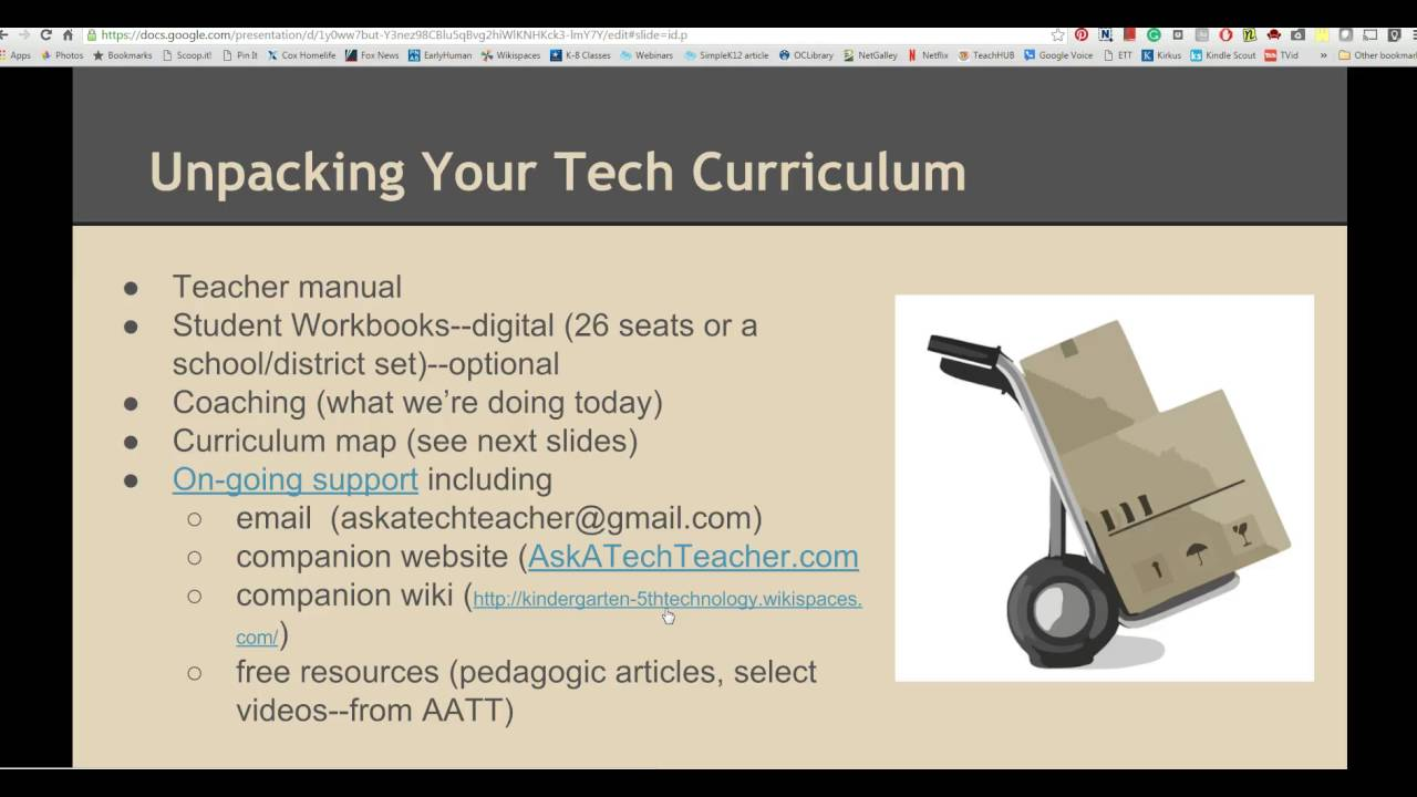 K-8 Tech Curriculum Set - Structured Learning