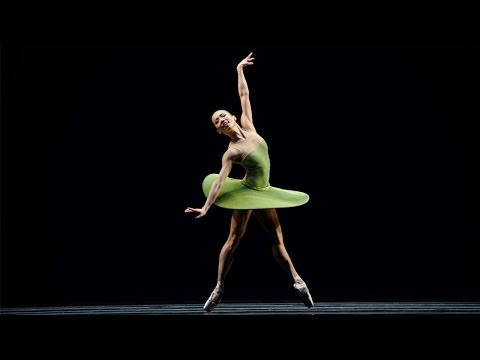"SF Ballet in Forsythe's ""The Vertiginous Thrill of Exactitude"""