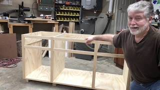 Cabinet Build, Simple and Easy How to