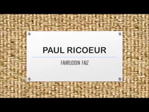 NGAJI FILSAFAT: HERMENEUTIKA FENOMENOLOGI PAUL RICOEUR (1)
