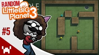 SUPERSHOT MINIGOLF! (Pt. 1) - Little Big Planet 3: Random Multiplayer - Ep. 5