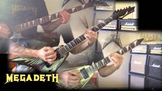 Megadeth - Ashes In Your Mouth All Guitar Cover (No Backing Track)