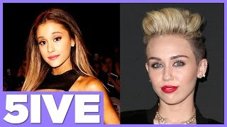 5 Most Dramatic Hairstyle Changes with Miley Cyrus & Ariana Grande