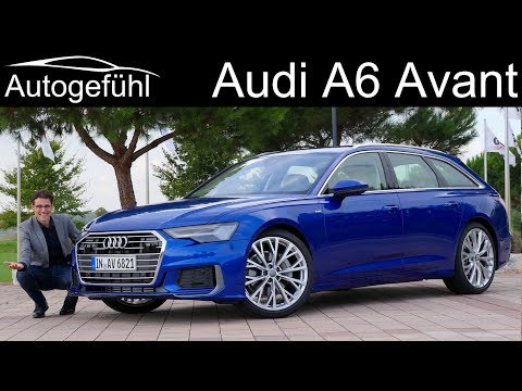 Audi A6 Avant FULL REVIEW all-new 2019 estate Kombi A6 C8 - Autogefühl