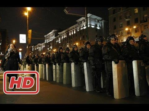 MASSIVE ANTI PUTIN PROTESTS IN RUSSIA