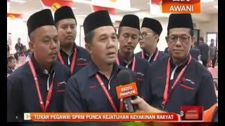 Tukar pegawai SPRM punca kejatuhan keyakinan rakyat
