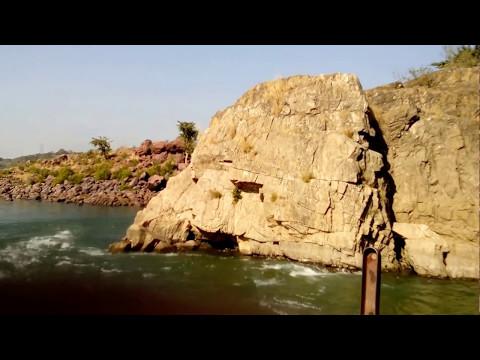 River Narmada is Flowing from Amarkantak through Bedaghat To Arabian sea , Gujarat