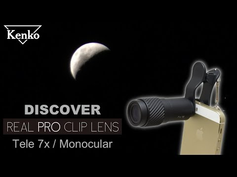 Discover Kenko Real Pro Clip Lens Tele 7x Lens For Smartphones