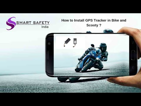 How to Install GPS Tracker in Bike and scooter?