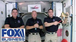 iss-astronauts-ring-nasdaq-opening-bell