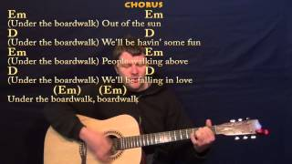 Under the Boardwalk (The Drifters) Guitar Strum Cover Lesson -Chords/Lyrics