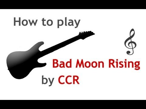 Bad Moon Rising guitar lesson, with chords - guitarguitar.net - YouTube