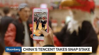 Tencent Gets Social With a Stake in Struggling Snap