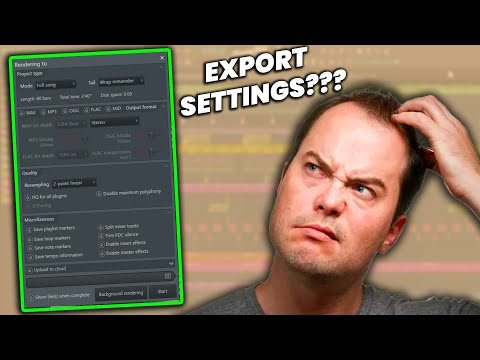 The Best Export Settings For FLStudio