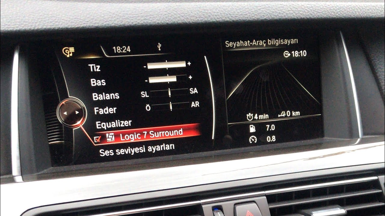 BMW F10 Harman Kardon Ses Sistemi & Elektrikli Bagaj & Soft Close (Vakum Kapı) Donanımları