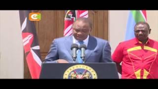 Uhuru: Uchaguzi lazima ufanyike Oktoba 26