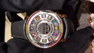 louis Vuitton spin time watch