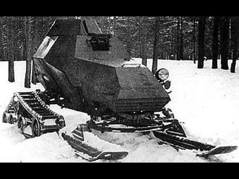 Rare Russian Aerosani Snowmobiles of World War I & World War II