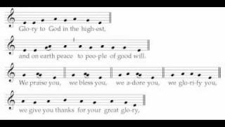 Gloria XV (Antiphonal) - ICEL Chant - New English Translation of the Roman Missal