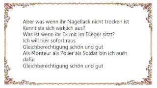 Ina Müller - Gleichberechtigung Lyrics