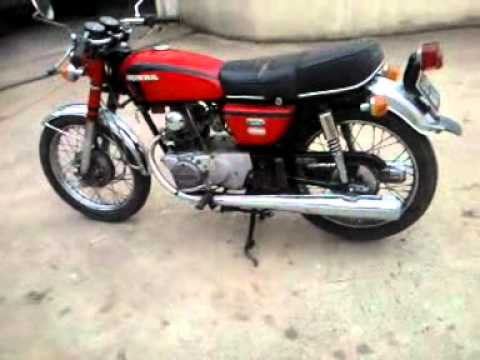 honda 125 cb k5 twin youtube. Black Bedroom Furniture Sets. Home Design Ideas