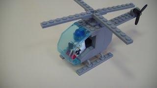 Делаем вертолет из Lego