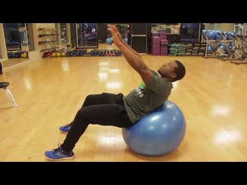 How To Do Sit Ups Using The Exercise Ball For A Strong And Sexy Core