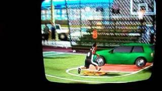 [Wii: NBA 2K10] JR Smith 360 Dunk over the Car