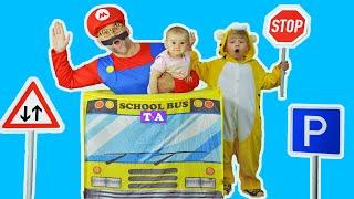Wheels on the Bus Song l Песенка для детей l Развивающие песенки для детей