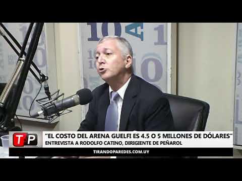 """Rodolfo Catino: """"El costo del Arena Guelfi es 4.5 o 5 millones de dólares"""""""
