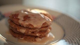 Cinnamon Bun Pancakes Recipe || Kin Eats