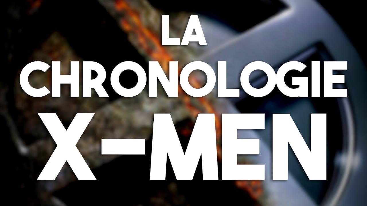 X Men Chronologie