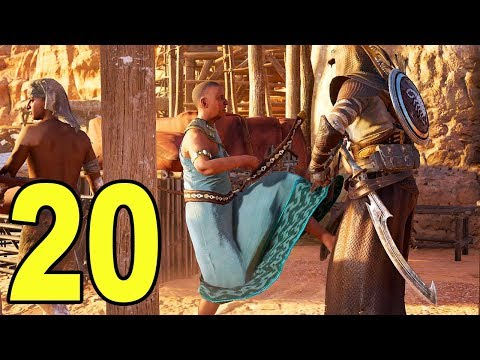 Assassin's Creed Origins - Part 20 - KICKED ME IN THE NUTS