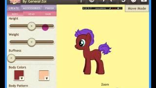 как сделать код пони в пони креаторе (мое первое видео)