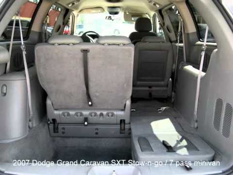 2007 Dodge Grand Caravan SXT Stow N Go YouTube
